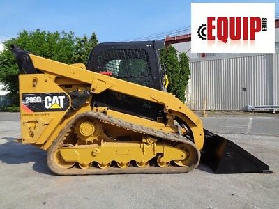 2015 Caterpillar 299D Track Skid Steer - XPS High Flow - 2 Speed - Low hours
