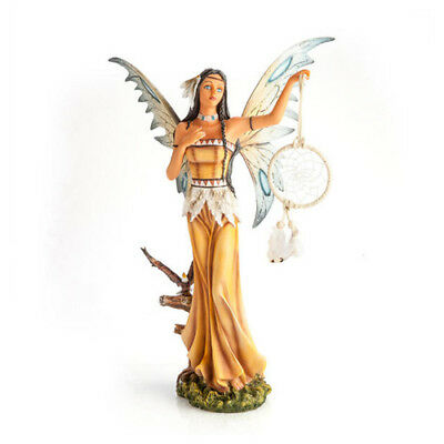 Dream Catcher Fairy Figurine Collectible Figurines Elegant Look Center Table