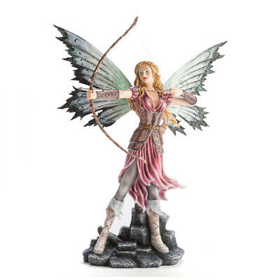 Fairy Archer with Drawn Bow Hunt High Quality Glittery Wing Metallic Collection