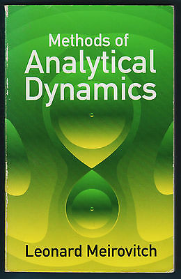 Leonard Meirovitch - METHODS OF ANALYTICAL DYNAMICS - 2003 Dover Publications
