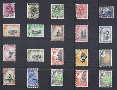 y1826 Swaziland / A Small Collection  Early & Modern Lhm & Used