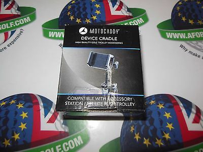 Motocaddy Device Cradle Adjustable Easy Fit Golf Trolley GPS Holder Mount Black