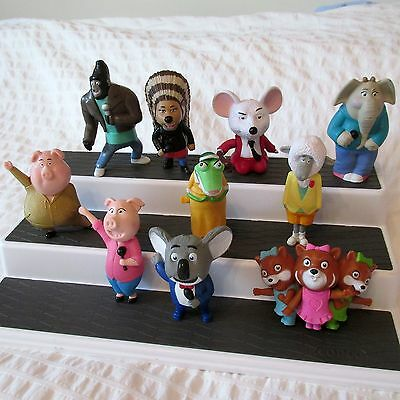 2017 MCDONALDS SING COMPLETE SET 10 FIGURES toys french canadian edition