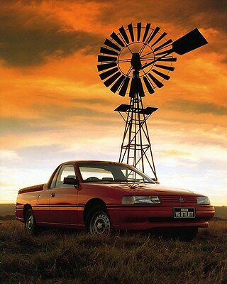 1991 Holden V6 Utility Factory Photo ca6996