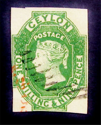 nystamps British Ceylon Stamp # 12 Used $950 SG 11 £800
