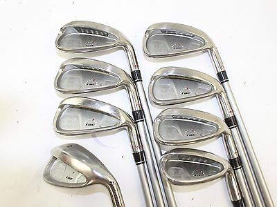 TaylorMade Rac ht Iron Set 4-SW Stiff M.A.S. 2 ht 55 Graphite RH 39.25 in