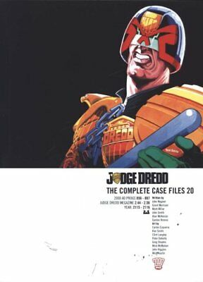 Judge Dredd: v. 20 The Complete Case Files by John Wagner 9781781081419