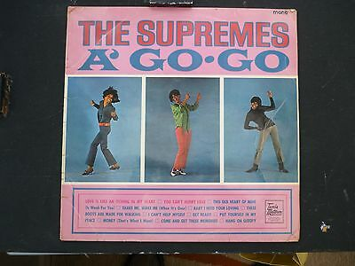 "...""the Supremes""...a' Go-Go...tamla Motown...r&b/ Soul...uk...lp...1966..."