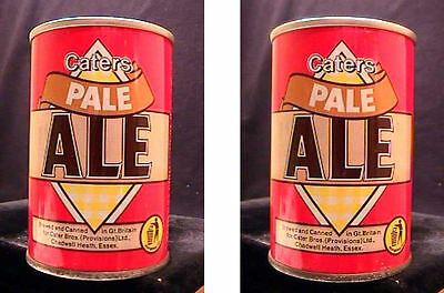 Caters Pale Ale - 9 2/3Oz Pull Tab Can - Chadwell Heath Essex - Gt Britain