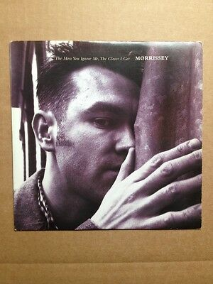 """Morrissey - The More You Ignore Me The Closer I Get 7"""" Single - Numbered Sleeve"""