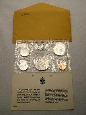 1965 Canada Proof-Like Silver 6-Coin Mint Set (65C)
