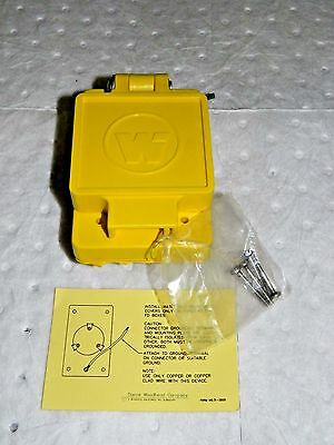 Woodhead Ungrounded Receptacle 250 VAC 15 Amp L6-15R Nema 73202871