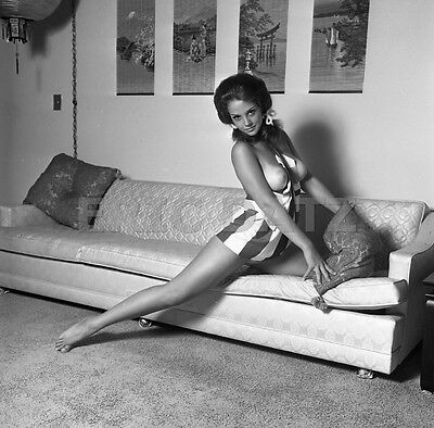1960s John Castano Negative, gorgeous nude pin-up girl Annette Moore, t977068