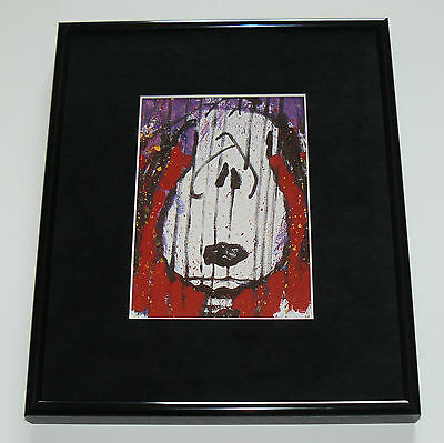 Tom Everhart Snoopy Winter  Framed Promo Print