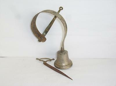 Genuine Antique Servants / Shop Door Bell & Quadrant