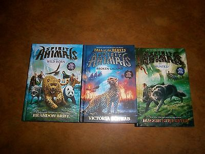 2 Spirit Animals Hardcover Books & 1 Fall Of The Beasts