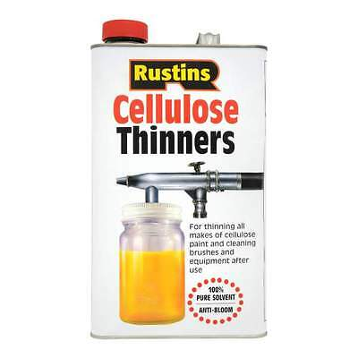 Rustins Cellulose Paint Thinners 5 Litre Also Ideal for Cleaning Spray Gun Brush