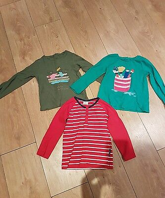 girls tops x3 1.5-2 years next and polarn o pyret