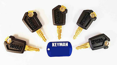 Keyman 5 CAT Caterpillar Heavy Equipment Keys- Cat Ignition Keys-Caterpillar