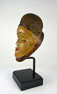 A Very Rare Old Punu Mukudj African Mask, African Art