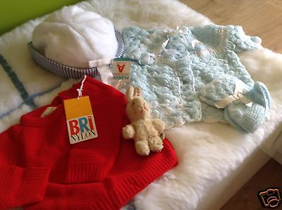 Authentic Vintage Infant Baby Boys/girls Bundle 3/9 Months 70S Unused