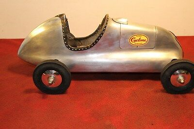 Rare Dooling Mercury Front Wheel Gas Powered Tether Car+ Ignition Model Engine