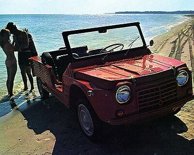1970 Citroen Mehari Factory Photo ca7034