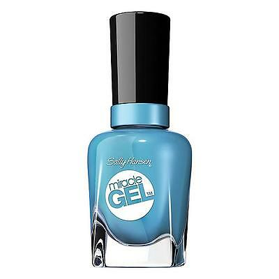 Sally Hansen Miracle Gel Nail Color no lamp needed -630 Rhythm & Blue-  new