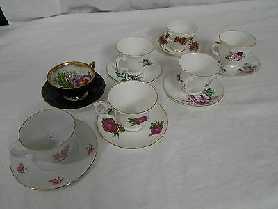 7!  Various Vintage Tea Cup and Saucer Lot (500)