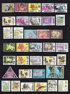 A Selection of Malaysia Stamps (m38-184)