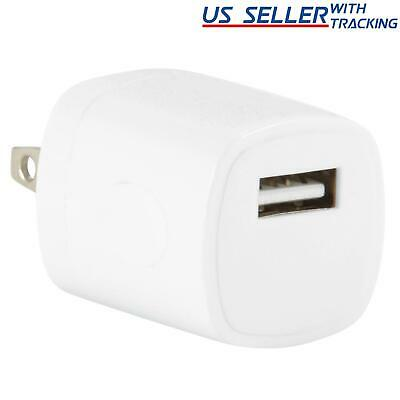 5V 1A 1000mA Univeral Home Wall AC to USB Adapter Charger for Cell Phone, White