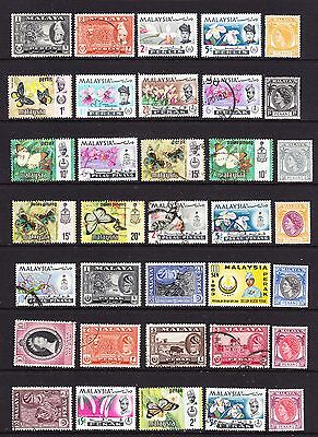 A Selection of Malaysia Stamps (m40-224)