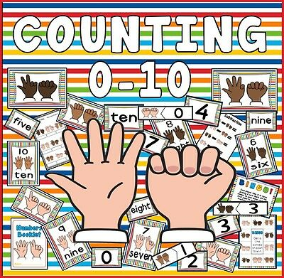 Cd Counting Numbers 0-10 Maths Number Teaching Resources Eyfs Addition Numeracy