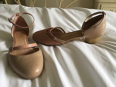 Camper pink Mary Jane leather shoes  sz 6