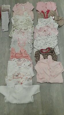 Baby Girls Bundle Leggings Baby Grows 0-3 Months 31 Items In Total Next M&S