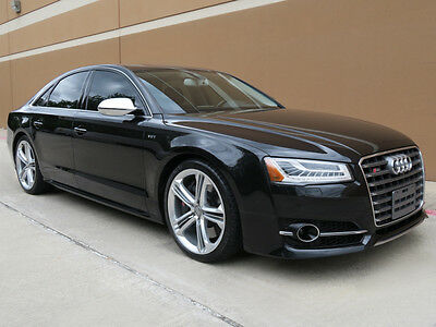 2015 Audi S8 S8 4.0T QUATTRO TIPTRONIC SEDAN 4.0L V8 AWD 2015 AUDI S8 4.0T QUATTRO TIPTRONIC SEDAN 4.0L V8 AWD NAVI CAMERA ROOF HEAD UP