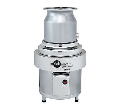 Waste disposer, In-Sink, basic unit only, 3 HP, Stainless, INSinkErator SS-300