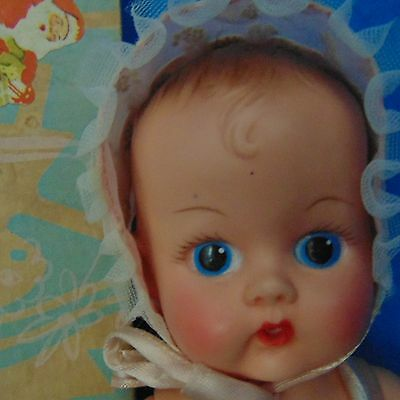 Vintage Vogue Ginny Ginnette Doll Original Box Clothes Paper Baby Decor Home Fig