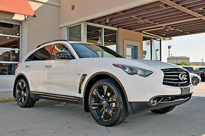 "2016 Infiniti Q70 S 2016 Infiniti QX70 S, 1-Owner, Navigation, Leather, Moonroof, 21"" Alloys!"