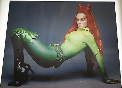 Uma Thurman Poison Ivy  Vintage 8X10 Photo Photograph #200 Batman & Robin