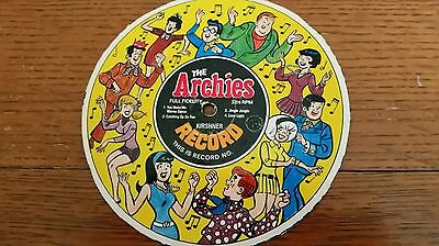 1960's Kirshner Archies Cereal Box Premium Cardboard Record No. 3