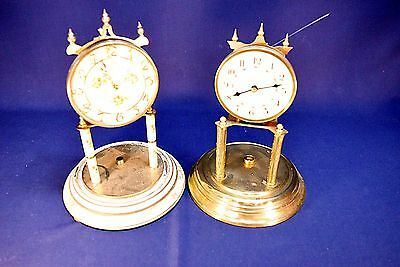 Vintage Kundo And Forestville Anniversary Clocks-For Parts/repair