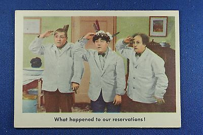 1959 Fleer - 3 Stooges - #28 What happened to our reservations! - VG/Ex