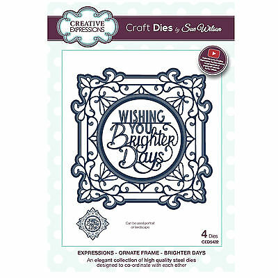 Craft Dies CED5422 Sue Wilson Expressions Kollektion Ornament RahmenBrighter