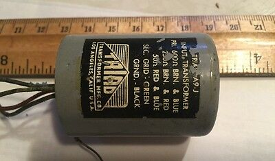 Vintage TRIAD A9J input transformer Black Label Canister A-9j