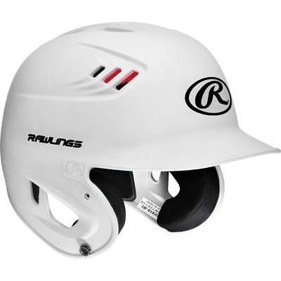 Rawlings Performance Rated S80X1AM-MW-89 M 7 1/8-7 1/4 White Batting Helmet