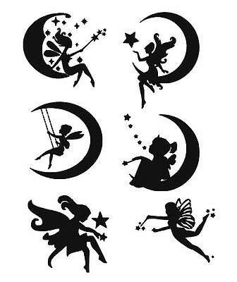 STENCILS CRAFTS TEMPLATES SCRAPBOOKING FAIRIES  11b STENCIL - A4 MYLAR