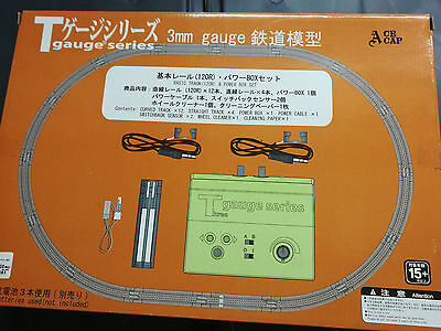 EISHINDO  T-GAUGE  ECHELLE  1/450 ème  BASIC  TRACK  &  POWER  BOX  SET