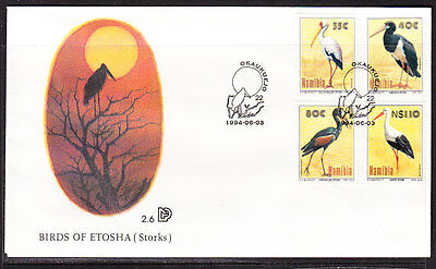 Namibia 1994 Storks  First Day Cover - Unaddressed