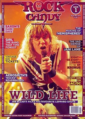 Rock Candy Magazine April 2017+Wild Life+Joe Elliott+Aerosmith's+Ac/dc